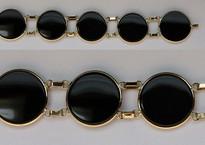 Round Black Onyx Bracelet