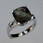 Smokey Topaz Gold Ring EGR867