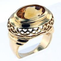 14kt Gold Citrine Ring 01YML-1