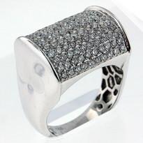 1.81ct Diamond Men's White Gold Ring
