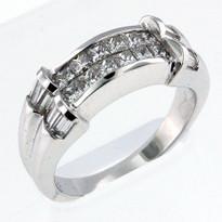 1.28ct Diamond Wedding Band