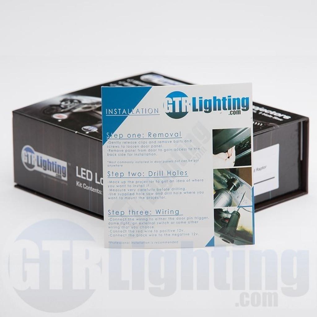 GTR Lighting LED Logo Projectors, Nissan Z Logo, #27