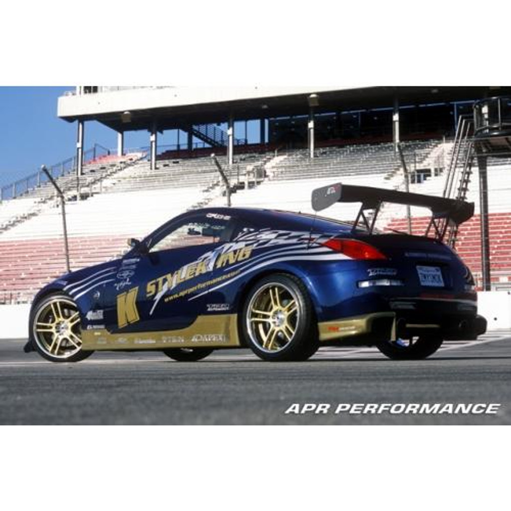 "APR Performance Nissan 350Z GTC-300 61"" Adjustable Wing 2000-2008"
