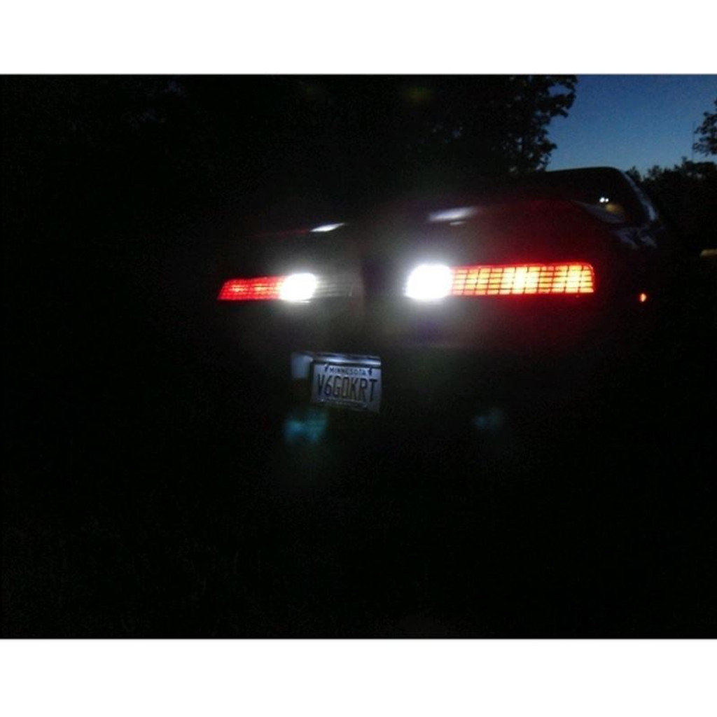 LED Reverse Light Bulbs - 1984 - 1988 Pontiac Fiero LED Light Bulbs Upgrade