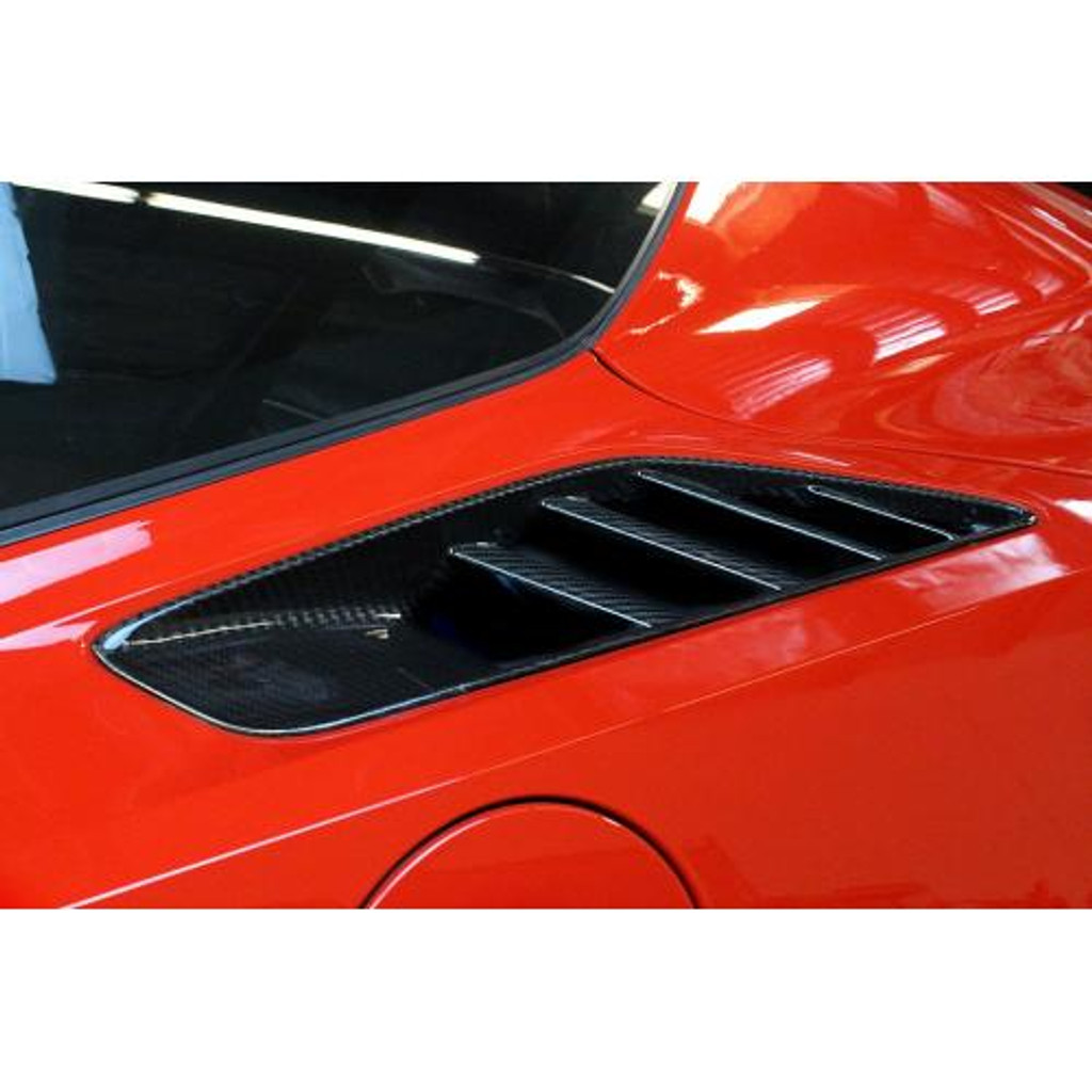 APR Performance Chevrolet Corvette C7 Quarter Panel Intake Vents 2014-Up
