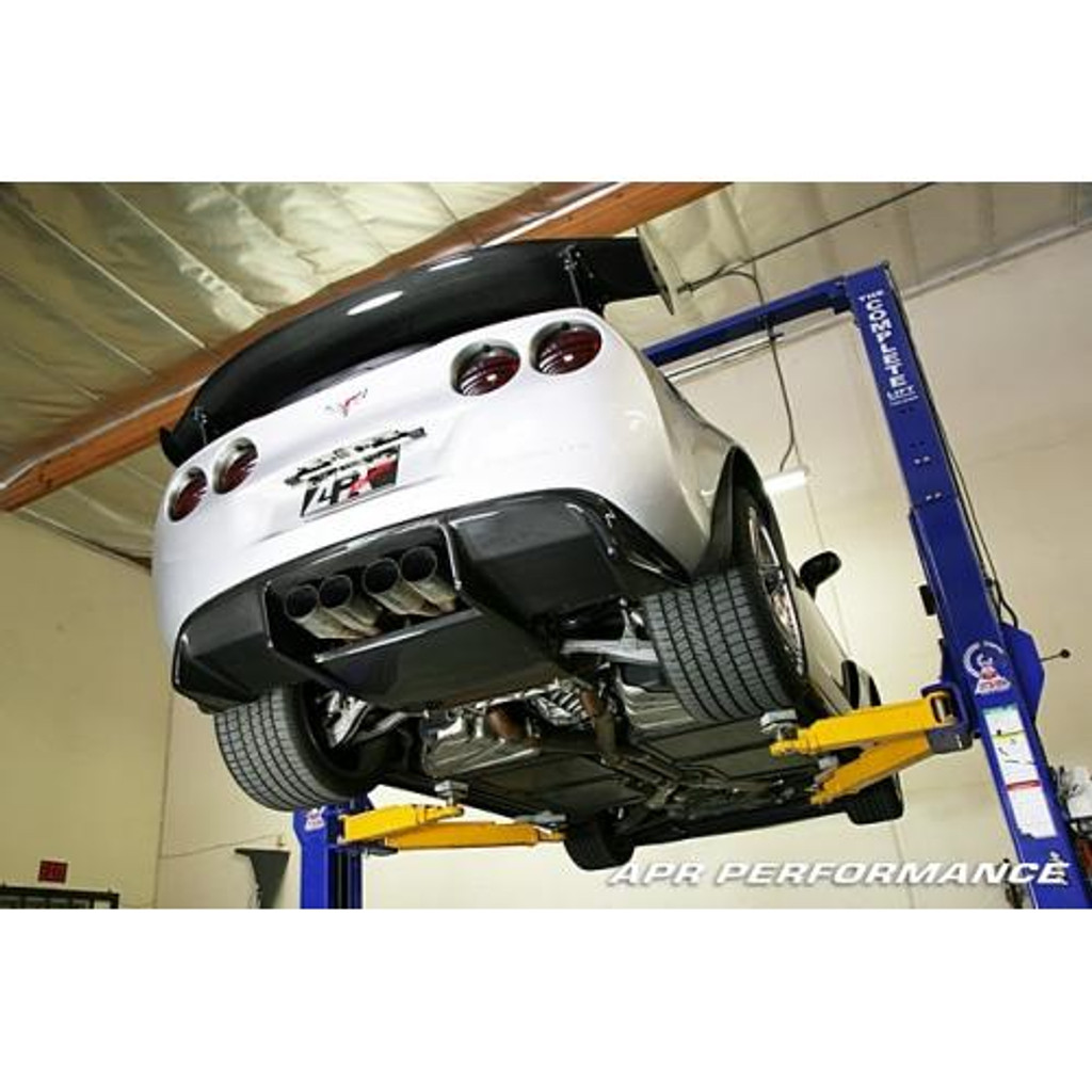 APR Performance Chevrolet Corvette C6 / C6 Z06 Rear Diffuser 2005-Up (Leaf spring system only)
