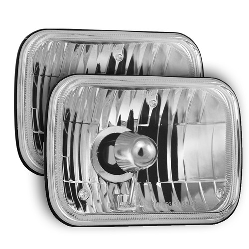 84-88 Pontiac Fiero HI/LO Sealed Replacement Headlight Housings