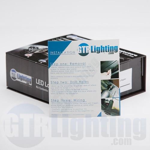 GTR Lighting LED Logo Projectors, Scion Logo, #18
