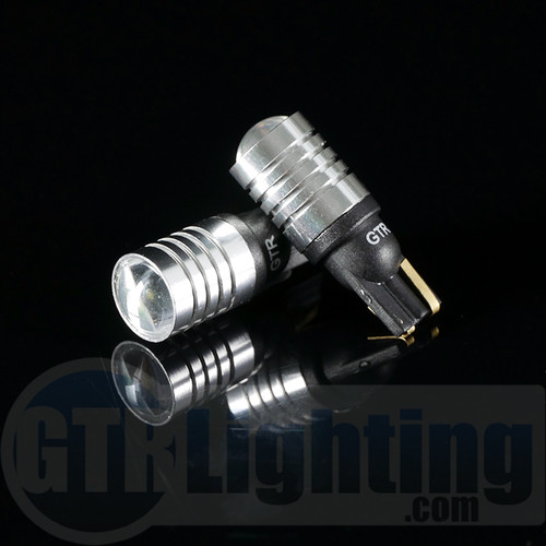 GTR Lighting T10 / 194 / 168 3W CREE LED Projector Bulbs