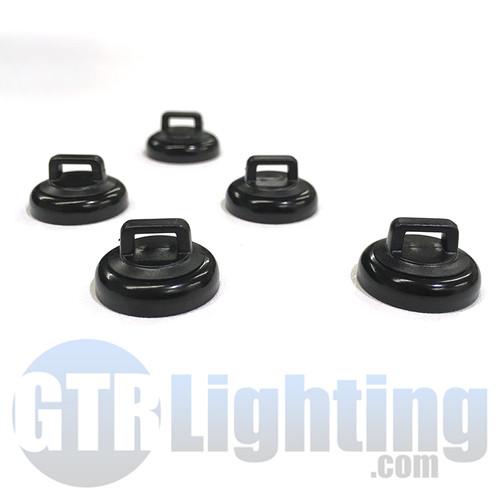 GTR Lighting Zip Tie Magnet Mount Kit for Custom Installs Pack of 5