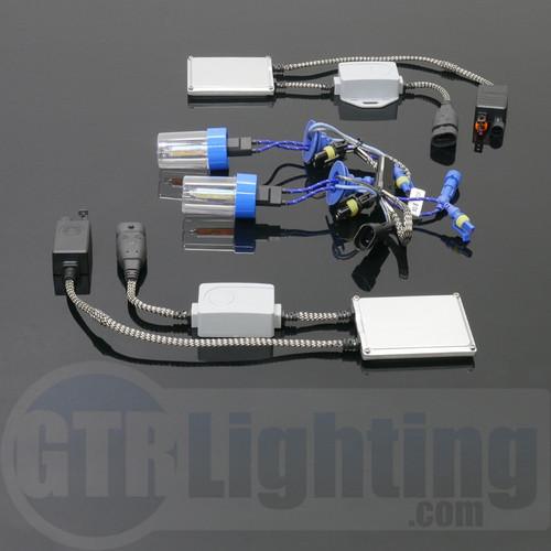 GTR Lighting 55w Smart PWM Single Beam Slim HID Conversion Kit - 5th Generation