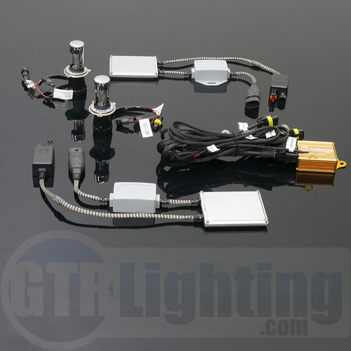 GTR Lighting 35w Smart PWM Slim Dual Beam HID Conversion Kit - 5th Generation