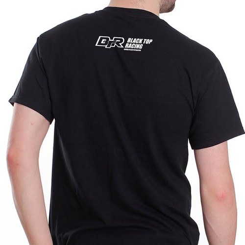 Black Top Racing Black Men's Nissan 350z T-Shirt