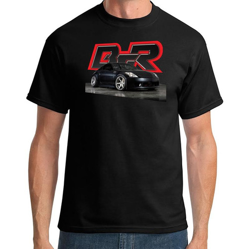 Black Top Racing Black Men's Nissan 350z T-Shirt