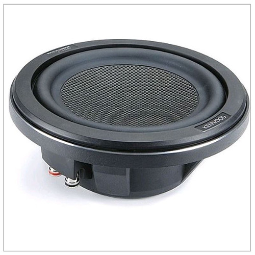 "Kenwood Excelon 8"" Low Profile Carbon Fiber Subwoofer"