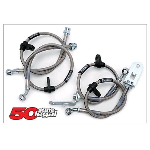Russell Pontiac Fiero DOT Stainless Steel Brake Lines