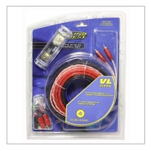 Sound Quest Sound Quest 4 Gauge Amplifier Wiring Kit