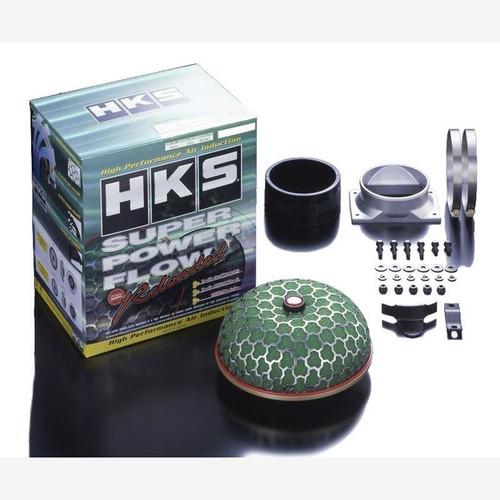 HKS Super Mega Flow Reloaded Kit, Twin Intake Filter System for 93-95 Mazda RX-7 FD