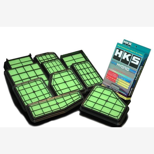 HKS Super Hybrid Filters (2 piece set) for 07-08 Infiniti G35 VQ35HR