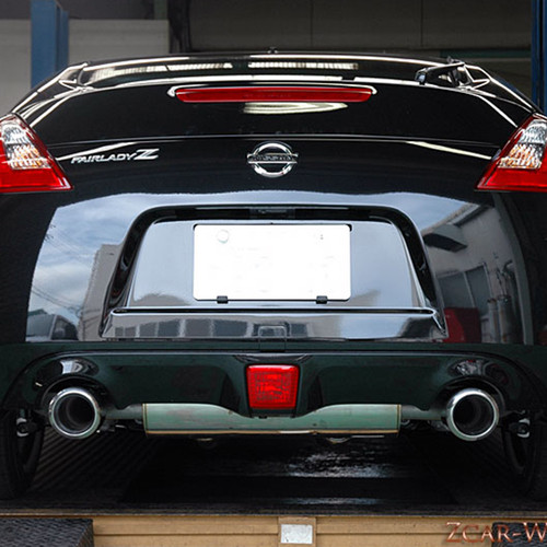 HKS Premium Legamax Exhaust Includes Mid Pipe for 09-16 Nissan 370z