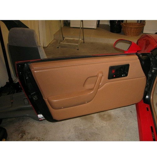 Pontiac Fiero Custom Door Panel Upholstery Kit WITHOUT Stitching - Flat Style