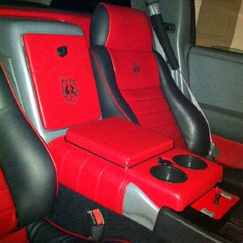 Pontiac Fiero Custom Center Console Saddle Wrap