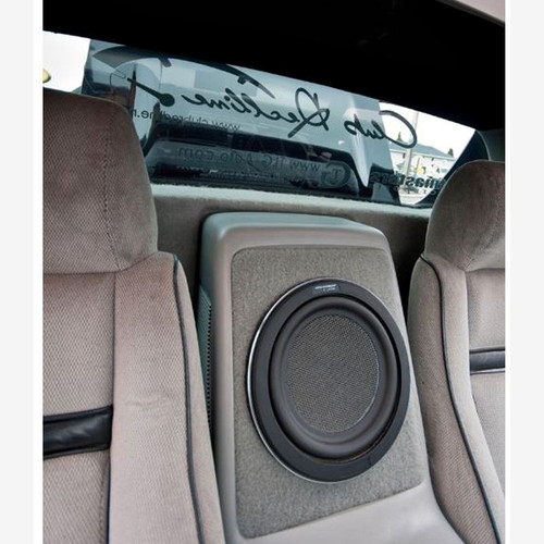 BTR Pontiac Fiero Center Console Subwoofer Box - Carpet Style
