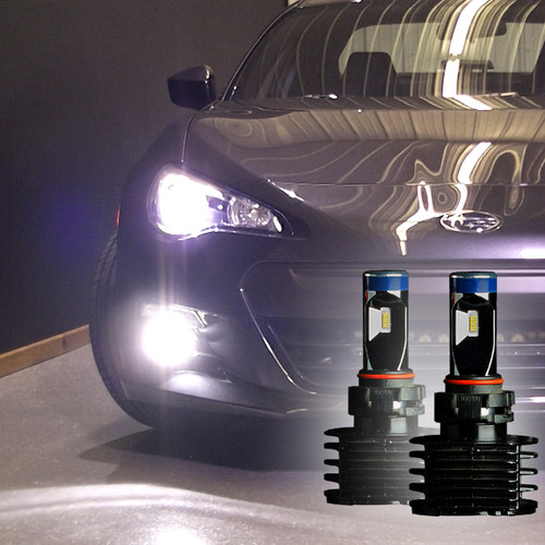 LVL 2 LED FOG LIGHT BULBS - 2012 - 2016 BRZ FR-S LED Bulbs Upgrade Kit