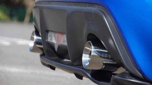 HKS Legamax Sports Exhaust for 12-16 Scion FR-S