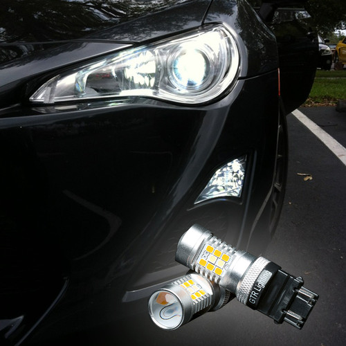 LED SWITCHBACK FRONT TURN SIGNAL LIGHT BULBS - 2012 - 2016 BRZ FR-S LED Bulbs Upgrade Kit