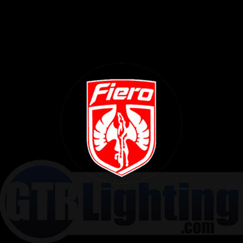 LED Door Logo Projector Kit - Pontiac Fiero Logo