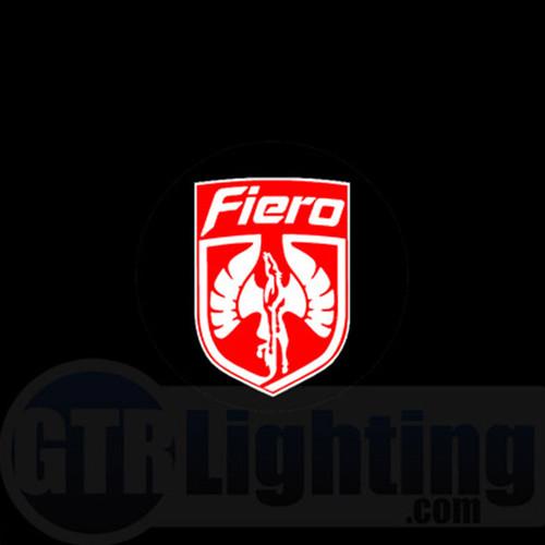 LED Door Logo Projector Kit - Pontiac Fiero Logo