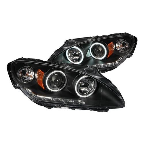 Anzo Honda S2000 00-03 Projector Headlights with Halo - Black Housing