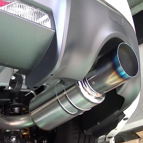 HKS Hi-Power Spec-L Cat-Back Exhaust with Titanium Tip for 12-16 Scion FR-S