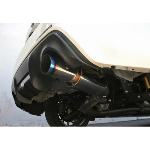 HKS Hi-Power Muffler Racing Single-Exit Exhaust for 13-16 Scion FR-S