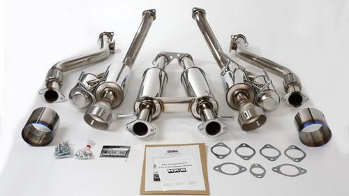 HKS Hi-Power Full Dual Exhaust for 09-16 Nissan 370z