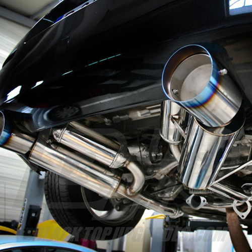HKS Hi-Power Cat-Back Dual Exhaust for 03-08 Nissan 350z - Fits VQ35DE and VQ35HR engines