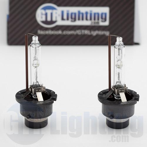 HID BULBS HIGH / LOW BEAM - 2006 - 2009 Nissan 350z Headlight Upgrade Kit