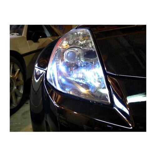 HEADLIGHT ACCENT - 2003 - 2005 Nissan 350z LED Headlight Accent LED Bulbs Upgrade LVL 1