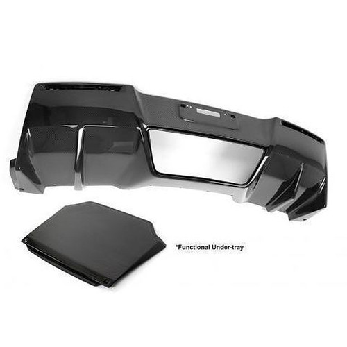 APR Performance Chevrolet Corvette C7 Z06 Rear Diffuser 2014-Up (With Under-Tray)