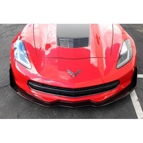 APR Performance Chevrolet Corvette C7 Track Pack Front Air Dam / Splitter 2014-Up