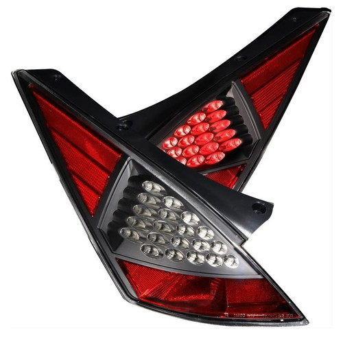 Anzo 03-05 Nissan 350Z LED Tail Lights - Black