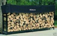 "Woodhaven Log, Firewood Rack & Cover 8""x4""x14"""