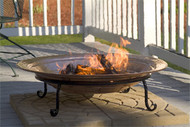 Copper Outdoor Fire Pit Good Directions Large