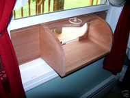 Coveside Window In-House Breadbox Window Bird Feeder