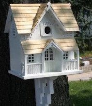 Home Bazaar Architectural Gingerbread Cottage Bird House