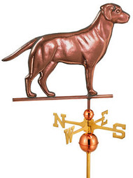Full Size Labrador Retriever  Weathervane