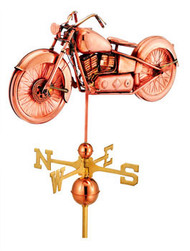 Full Size  Vintage Motorcycle Weathervane