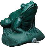 Aqua Ultraviolet UV Sterilizer 15 Watt Frog Statuary