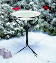 Allied Precision Heated Bird Bath w/ Metal Stand 20""